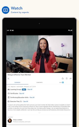 LinkedIn Learning screenshot 10