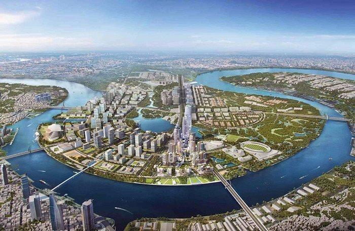 Thông tin quy hoạch của dự án 145ha Bình Trưng Đông Quận 2