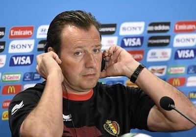 """Marc Wilmots: """" Que l'Algérie s'occupe de son équipe """""""