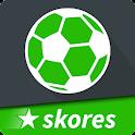 SKORES - Live Football Scores - Logo