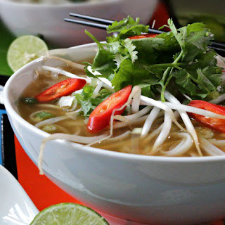 Easy Beef Phở with Oodles of Noodles.