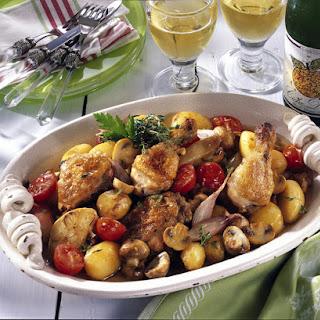 Cider Chicken Casserole.