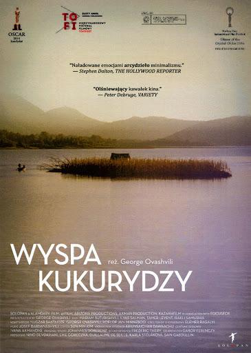 Przód ulotki filmu 'Wyspa Kukurydzy'