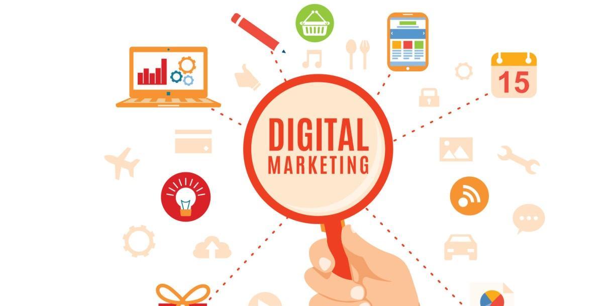 Digital Marketing là một lĩnh vực của Marketing