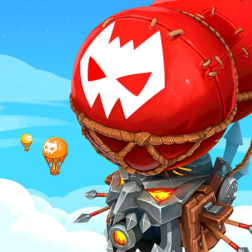 Wild Sky Tower Defense: Epic Legends TD RPG
