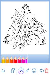 Книжка-раскраска: Животные Screenshot