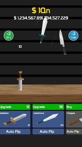 Idle Knife Flip 1.1 screenshots 2
