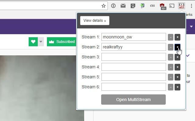 KBMOD MultiStream Extension