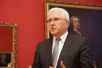 Photo: Vernisáž: Prezident města Nová Sůl (Nowa Sól) Wadim Tyszkiewicz.