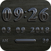 LONDON Digital Clock Widget