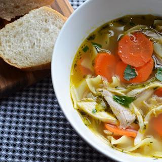 Simple Chicken Noodle Soup Recipe