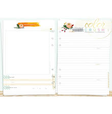 Websters Pages Color Crush A5 Personal Planner Inserts - Memory Keeping UTGÅENDE