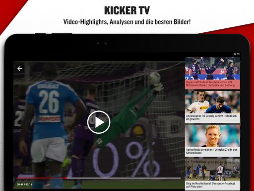 kicker Fußball News 6.6.0 screenshots 13