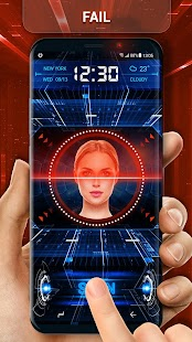 Unlock Phone with Face Detection Screen Lock - náhled