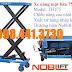 Xe nâng mặt bàn 750kg cao 1m5 Noblift -Đức - call 098 441 3730 Ms Linh
