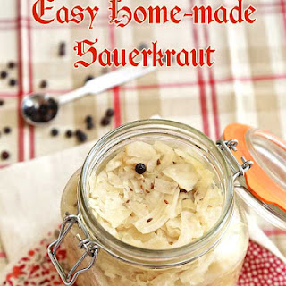 Easy Homemade Sauerkraut