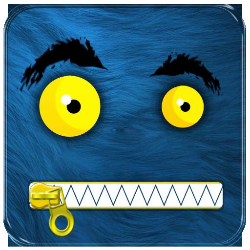 モンスタージッパーロック画面 個人化 App LOGO-硬是要APP