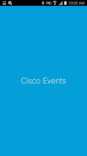 Cisco Events screenshot 1