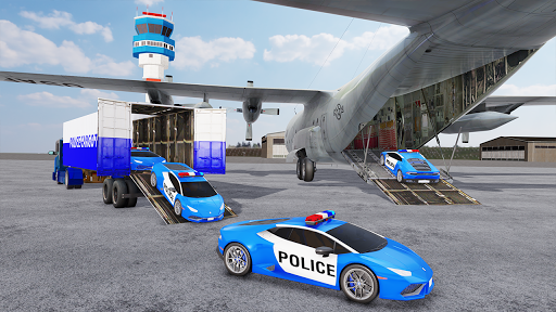 US Police Transporter Plane Simulator 2.1 screenshots 3