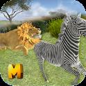 Wild Lion Attack Simulator 3D icon