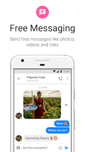 Messenger Lite: Free Calls & Messages Screenshot