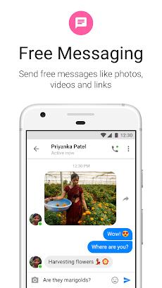 Messenger Lite:無料通話とメッセージのおすすめ画像1