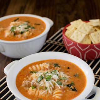 Creamy Italian Tomato Soup.