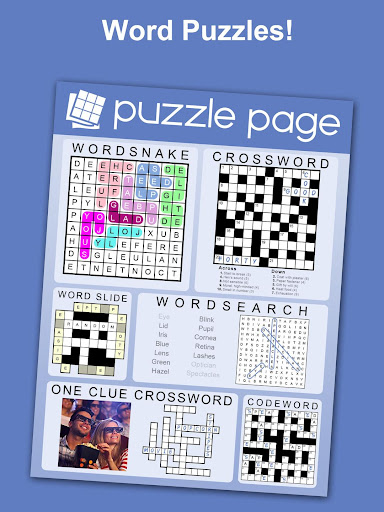 Puzzle Page - Crossword, Sudoku, Picross and more screenshots 9