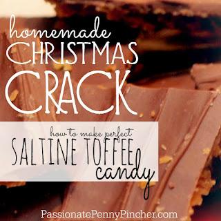 """Christmas Crack"" {AKA Saltine Toffee Candy}."