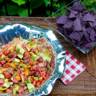 Avocado Tomato Watermelon Salad