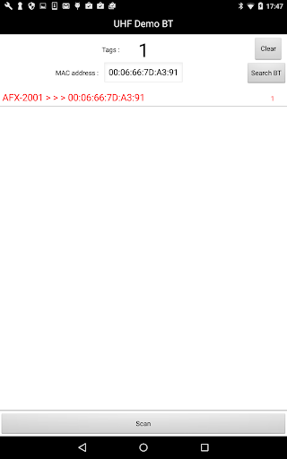 UHF Demo Bluetooth 1.2 Windows u7528 8