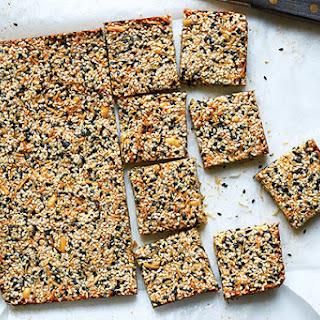 Sesame-Peanut Bars