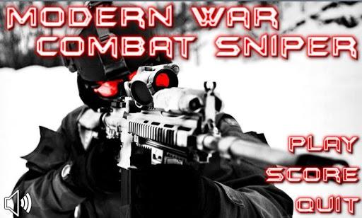 modern war combat sniper