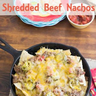 Shredded Beef Nachos