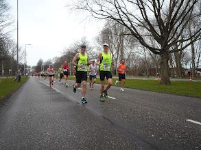 Photo: Nu op 19km hun eindtijd werd 3.27.34 min