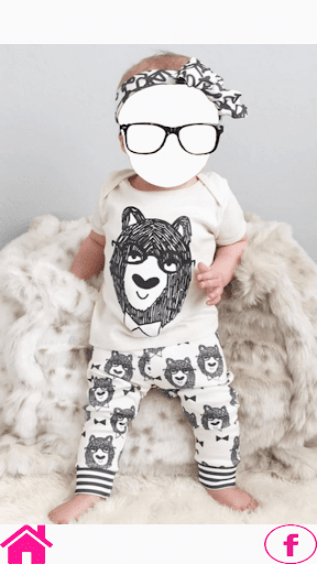 Baby Suit photo frames 2018