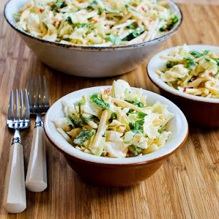 Apple-Jicama Slaw with Sweet and Spicy Sriracha Dressing