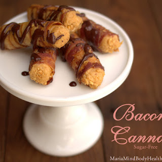 Bacon Cannoli