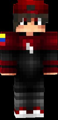 Hola este es mi skin con bandera de colombia jaja salu2