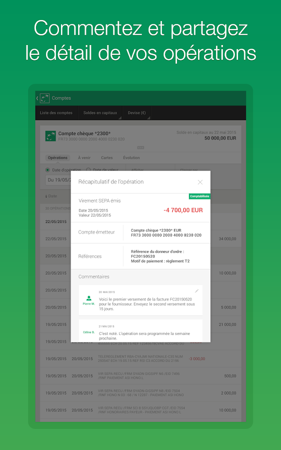 Corporate BNP Paribas- screenshot