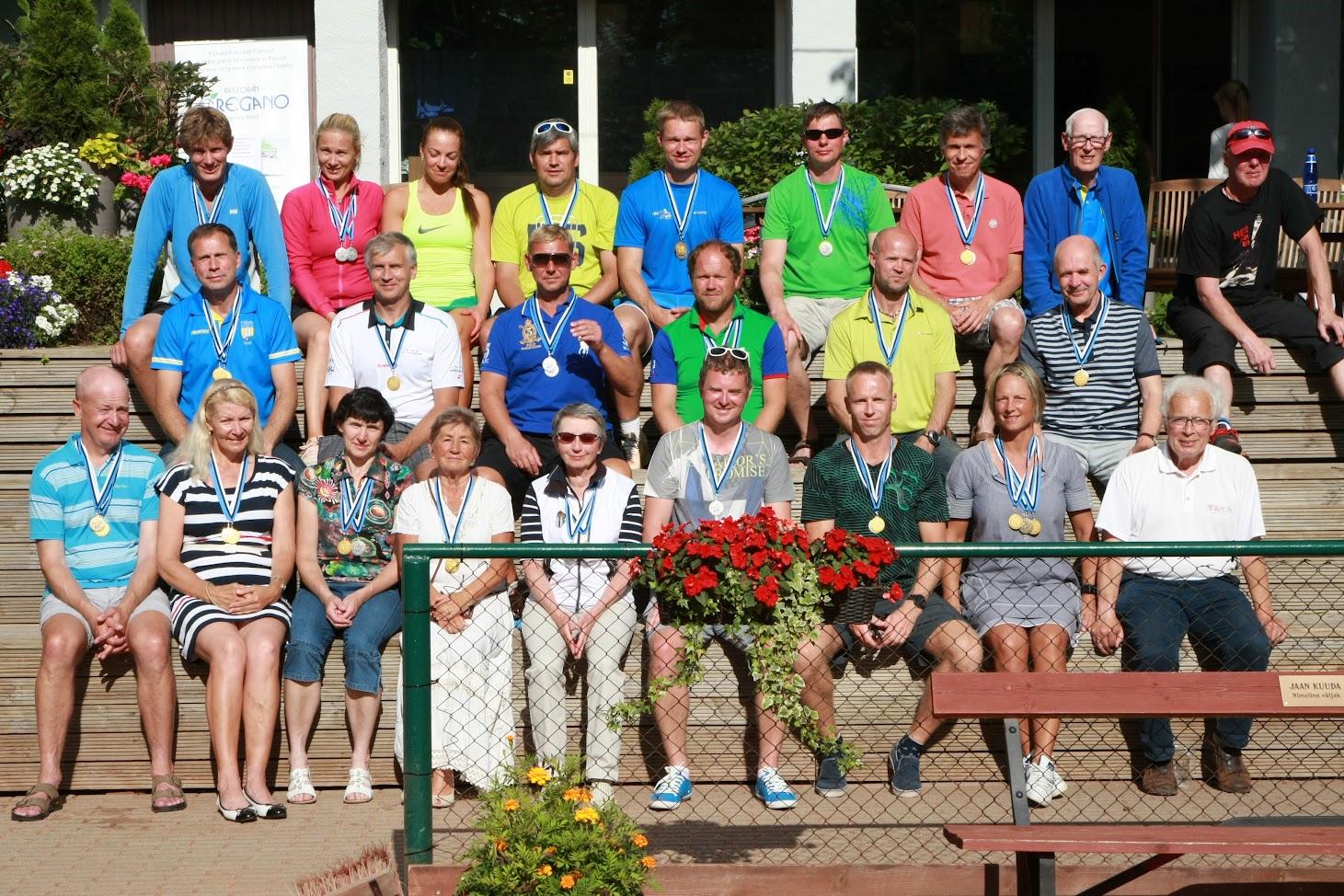 Eesti Seenioride meistrivõistlused tennises 2017 - ühispilt
