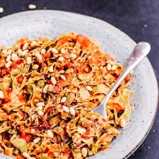 Red Pepper Pine Nut Pasta Recipe