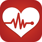 Heart Rate Monitor Pulse Checker:  BPM Tracker icon