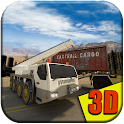 Heavy Equipment Transporter 3D icon