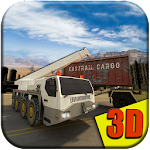 Heavy Equipment Transporter 3D Icon