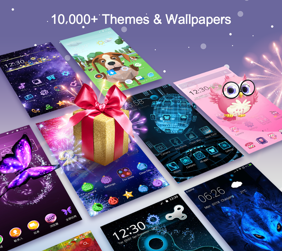 CM Launcher 3D - Theme, Wallpapers, Efficient- screenshot