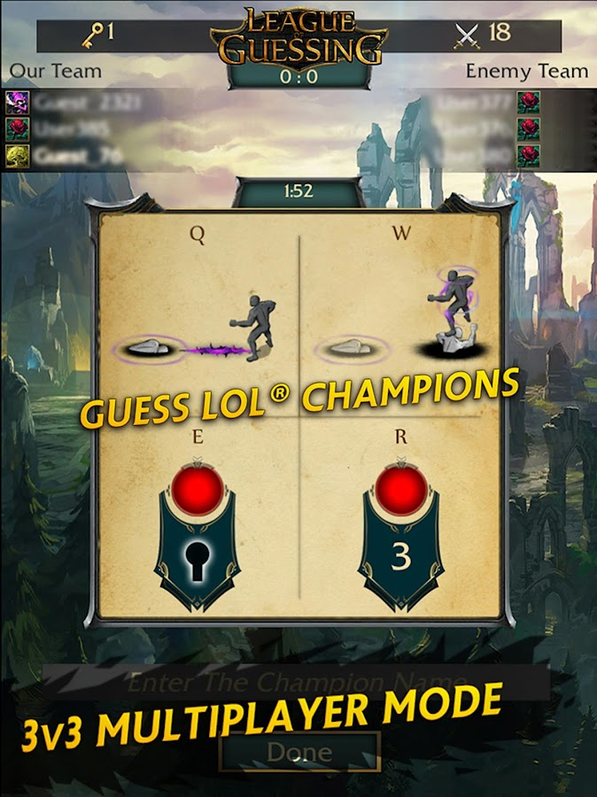 League Of Guessing- screenshot