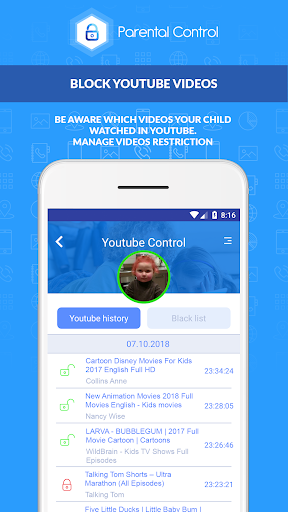 Parental Control Kroha - Screen Time & Kids mode 3.1.2 screenshots 4