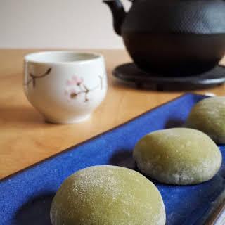 Matcha (Green Tea) Mochi.