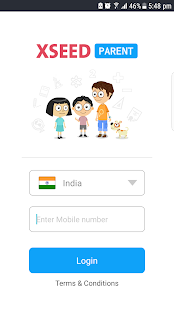 XSEED Parent App - náhled